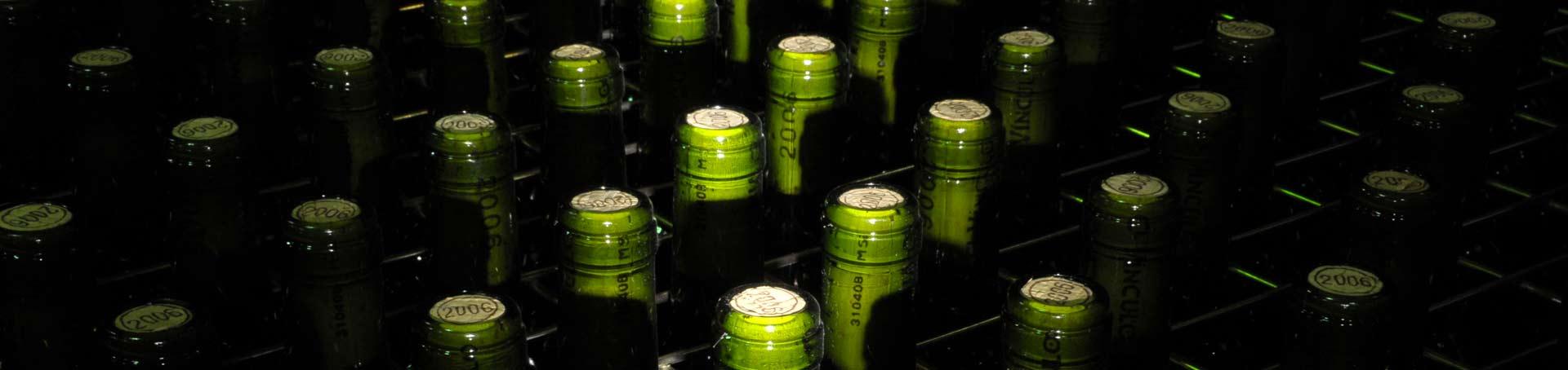 Botellas para el envejecimiento del vino